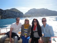 Boat Ride on the Bay of Naples