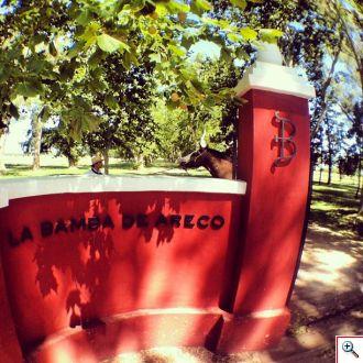 Entrance to La Bamba de Areco