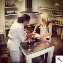 Cooking class with Chef Paula Mendez Carreras at her home