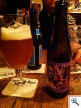 Femme Fatale Beer at Cafe Rose Red in Brugge