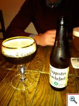 Trappistes Rochefort #8 Beer in Brugge at Cafe Rose Red