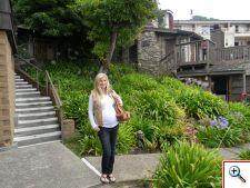 Julie at Hyatt Carmel Highlands, CA