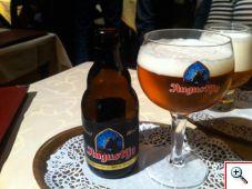 The St. Augustijn Beer at Staminne de Garre in Brugge