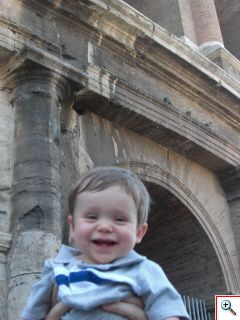 Bennett happy to see Italian ruins