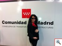 Jill in Madrid