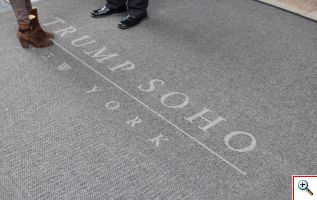 Trump SoHo Door Mat