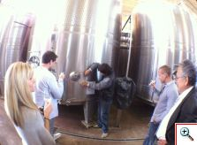 Barrel tastings at Tapiz