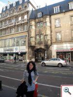 Jill lost en route to G.H. Mumm in Reims