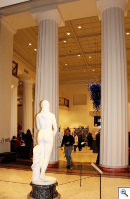 Lobby of the Art Museum