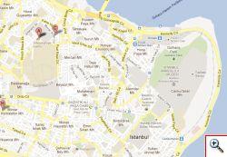 Map showing Suleymaniye Hamam