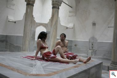 Suleymaniye Hamam Atrium (courtesy of their website)