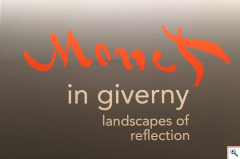 Monet in Giverny Sign