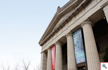 Facade of Cincinnati Art Museum