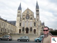 Nick at Saint-Remi in Reims