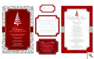 Jill's Wine Menu Designs for 2012